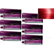 Kit 6x Unidades Coloração Color Intensy 0.6 Vermelho Amend