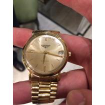 Reloj Longines Clásico Automático 80 Gramos De Oro 18kt
