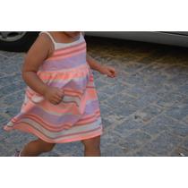 Lindo Vestido Crazy8 Verao Tamanho 5t - 5 Anos Importado Eua