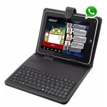 Tablet Função Celular 2 Chip Android 5.1 + Capa C/ Teclado
