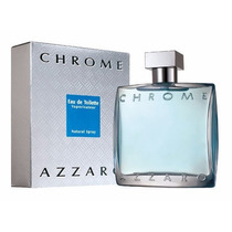 Azzaro Chrome Eau De Toilette 50ml Masculino | 100% Original