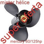 Hélice Motor Popa Mercury 60/125 Hp 13.25 X 17 Sorabo