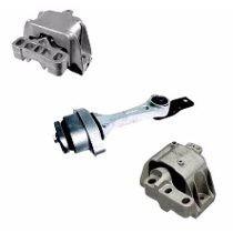 Kit 3 Coxins Calço Motor E Cambio Audi A3 Golf 1° Linha