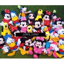 Pelucias ( Mickey/minnie/pateta/donald, Plutos Ou Margarida)