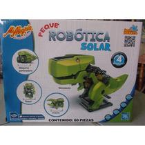 Peque Robotica Solar 4 Robots En 1 Serie Infantil