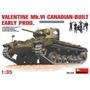 Modelo De Tanque 1:35 Valentine Mk Vi Construido En Canadá