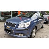 Chevrolet Aveo Lt 1.6 4 Puertas Azul Gnc Equipot 5ta 2012
