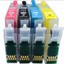 Kit Cartucho Recargable Compatible Xp211 Y 4 Botes De Tinta