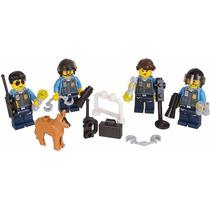 Lego City Minifiguras Playset Policias 34 Piezas Original !