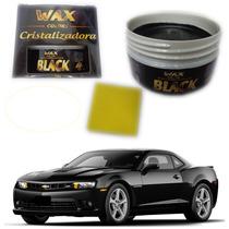 Cera Cristalizadora Wax Color Black 140g Própria Carro Preto