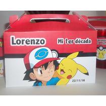 20 Valjitas Porta Golosinas Pokemon Go