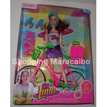 Muñeca Soy Luna Con Patines Bicicleta Y Accesorios * Tienda