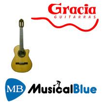 Guitarra Criolla Gracia Requinto Caja Nogal Americano