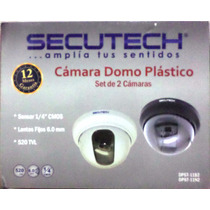 Kit Camara Secutech Dpst-11 2 Camara Transfo Conector Cable