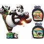 Bello Morral De Kung Fu Panda 3 Bulto Escolar Colegio Disney