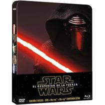Star Wars Episodio 7 El Despertar De La Fuerza Steelbook Bd