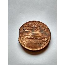 Moneda 20 Centavos 1966 Mo