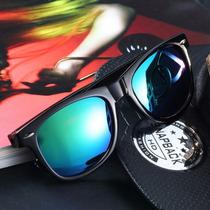 Óculos Sol Infantil Wayfarer Espelhado 100%novo Uv400 Lindo