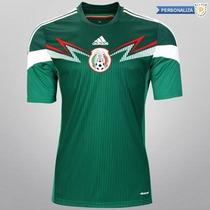 Hermoso Jersey Adidas Selección De México Casa 2014