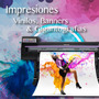 Impresion Vinilo Autoadhesivo Lona Banner Impreso