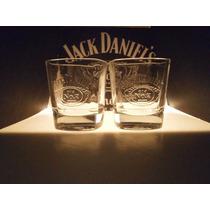 Vasos Para Whisky Jack Daniels (4 Pzs)