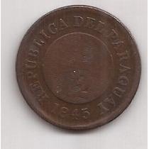 Paraguay Muy Antigua Moneda 1/12 De Real Año 1845