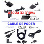 Cable De Poder Ps3 -ps2 Slim Nuevo Y Sellado Fenix Games Dx