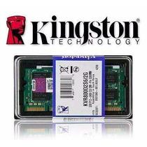 2 Pentes Memoria Ddr2 2x 2gb - 4gb 667mhz Kingston Original