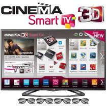 Smart Tv Lg Led 3d 50¨ Tela Quebrada
