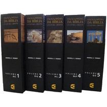 Enciclopédia Da Bíblia Cultura Cristã 5 Volumes Frete Grátis