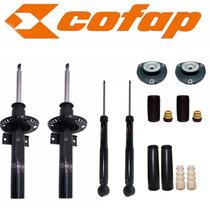 Kit 04 Amortecedores Fox Todos + Kit + Coxim - Novo Cofap