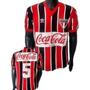 Blusa Retrô São Paulo 1989 Coca Cola Tricolor Camisa Spfc