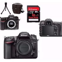 Câmera Nikon D7200 Corpo+bolsa+tripé+32gb Class10 + Nota