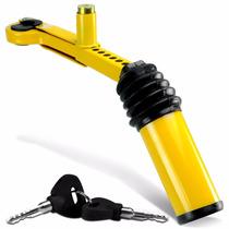 Trava Anti Furto Cambio E Freio De Mão Universal Chave Tetra
