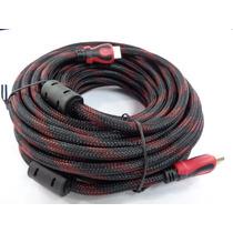Cable Hdmi 15metros Full Hd 1080p Bluray 3d Ps3 Xbox Dvd Tv