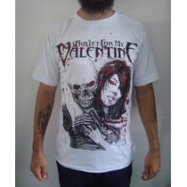 Camiseta Bullet For My Valentine (branca)