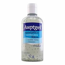 Álcool Gel - Asseptgel Anti-séptico Combate H1n1 52g Cristal