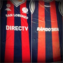 Camiseta Musculosa De Básquet San Lorenzo Oficial Casla