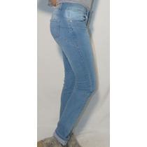 Pantalón De Jean Elastizado, Octanos Oficial - Millais
