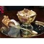 10 Láminas De Oro 24k Comestibles De 4,5 Cm Uso Gourmet