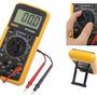 Multitester Profesional Digital Amperímetro Dt9205a Senit