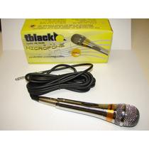 Microfone Com Fio Dinâmico Tblack É Na Forte Música