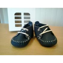 Zapatitos De Cuero Para Bebés Talles 13 Al 18 No Caminantes