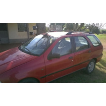 Fiat Palio El Weekend 1.7 Turbo Diesel Año 2000 Roja