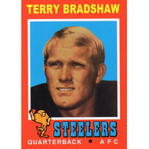 2012 Topps Reprints 1971 Terry Bradshaw Pittsburgh Steelers