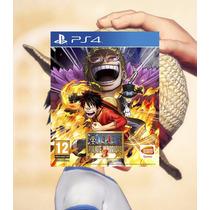 One Piece Pirate Warriors 3 Ps4 Código Psn Envio Imediato !!
