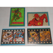 Álbum Super Powers Cromy Lote C/11 Figurinhas Nunca Usadas