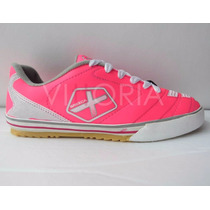 Zapatos Tenis Munich Grexca Zapatillas Fútsal Fútbol Rosado