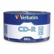 Cd Virgen 52x 700 Mb. Marca Verbatin Bulk De 50 Discos
