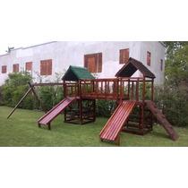 Juegos Infantiles De Madera Para Jardines